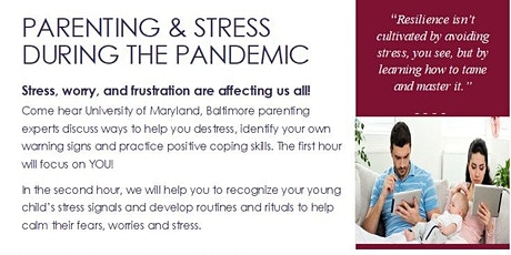 Parenting & Stress During The Pandemic Workshop tickets
