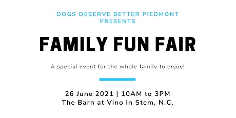 Family Fun Fair 2021 tickets