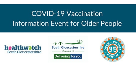 COVID-19 Vaccination Information Event for Older People tickets