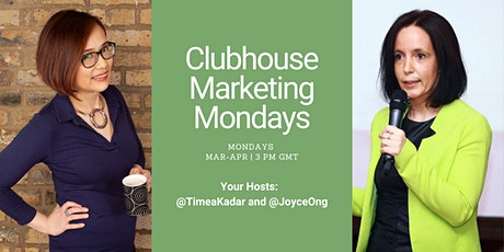 Clubhouse Marketing Mondays tickets