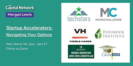 Startup Accelerators: Navigating Your Options tickets