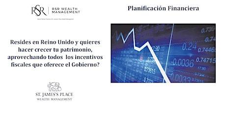 Planificacion Financiera - ¿Uso los incentivos fiscales disponible en UK? boletos