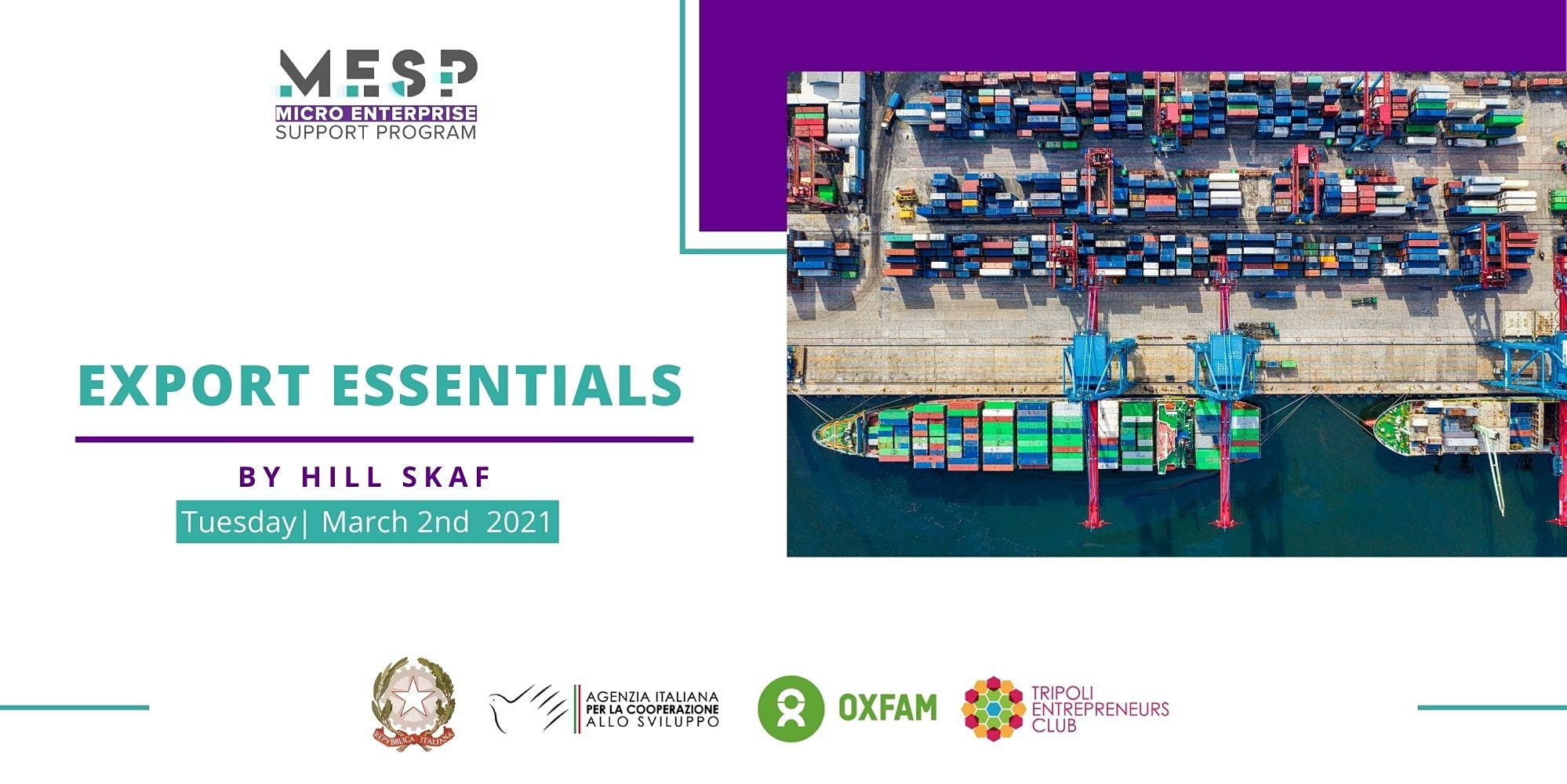 Export Essentials