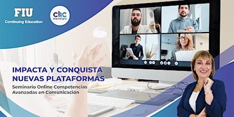 Seminario Competencias Avanzadas de Comunicación (en español) entradas