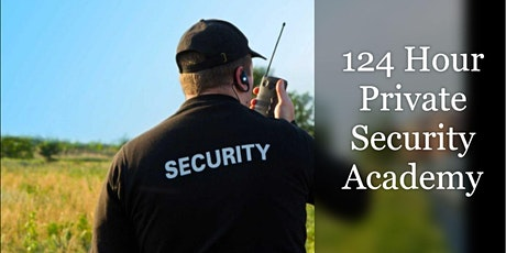 OPOTA 124 -Hour Private Security Academy (April 5th-30th 9am-6pm M-F) tickets