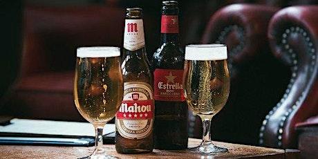 Degustación de cervezas españolas en Expanish entradas