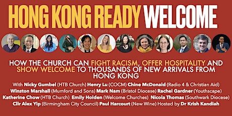 Hong Kong Ready Welcome - a special evening of inspiration and information tickets