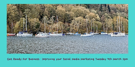 Get Ready for Business:- Improve your Social Marketing Platforms tickets