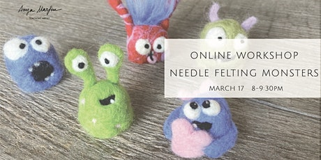 Needle Felting Monsters tickets