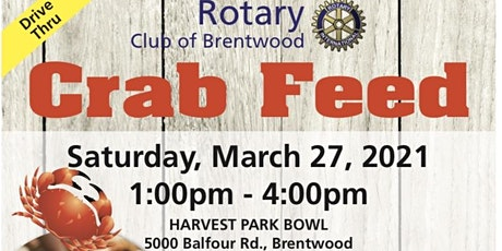 Brentwood Crab Feed tickets