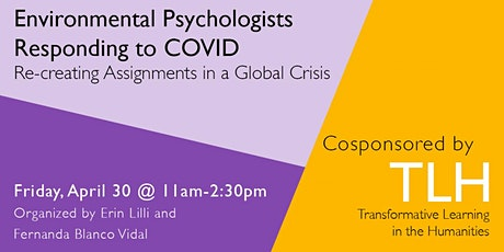 Environmental Psychologists Responding to COVID: Re-creating Assignments tickets