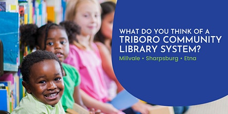 Triboro Community Library System - Programming and Services Session tickets