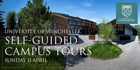 University of Winchester: Self-Guided Campus Tours on Sunday 11 April tickets