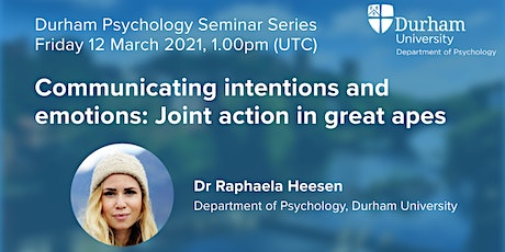 On communicating intentions and emotions: Joint action in great apes tickets