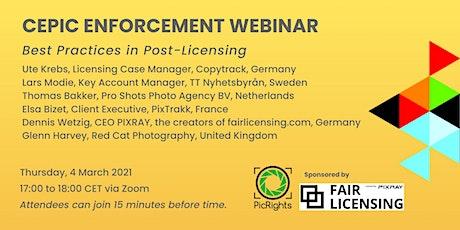 CEPIC Enforcement Webinar billets