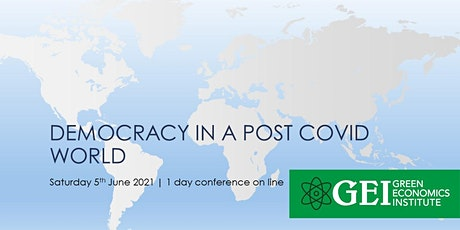 Democracy in the Post Covid World- What will it look like? tickets