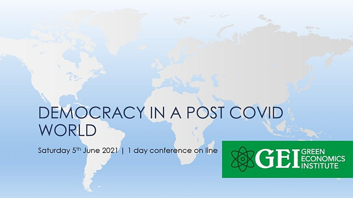 Democracy in the Post Covid World- What will it look like? image