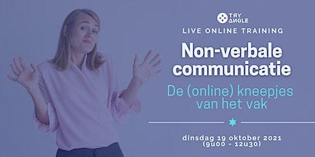 Non-verbale communicatie: de (online) kneepjes van het vak tickets