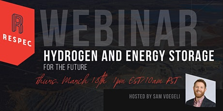 Hydrogen and Energy Storage for the Future tickets