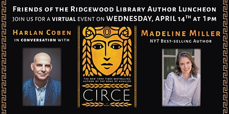Friends of the Ridgewood Library 2021 Virtual Author Luncheon tickets