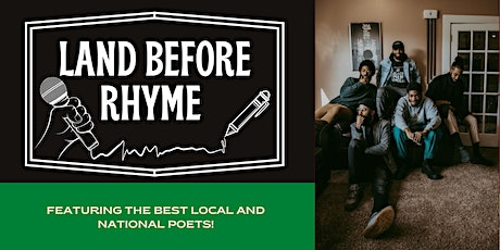 Land Before Rhyme - National Poetry Month Edition tickets
