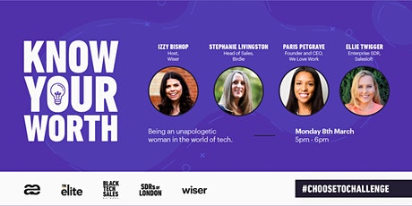 Know your worth: Being an unapologetic woman in the world of tech tickets