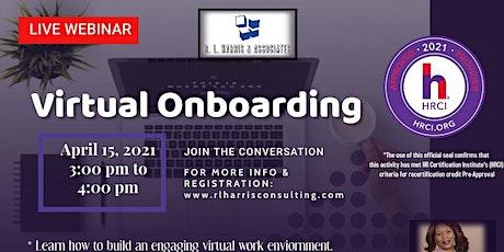 Virtual Onboarding tickets