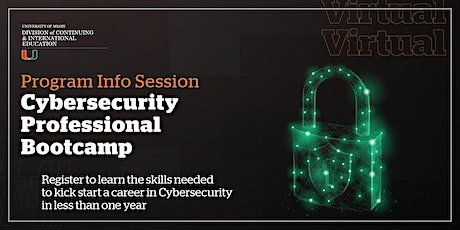 How to Launch a New Career in Tech | Cybersecurity Bootcamp Info Session tickets