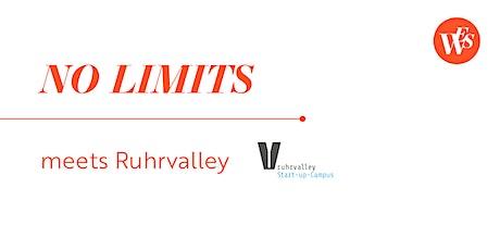 NO LIMITS meets Ruhrvalley - Du hast das Zeug zum Gründen! Tickets