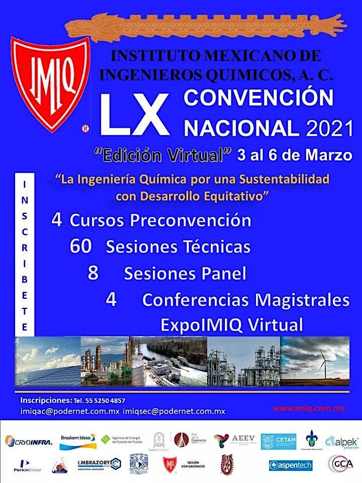 Imagen de LX Convencion Nacional IMIQ y Expoimiq Virtual