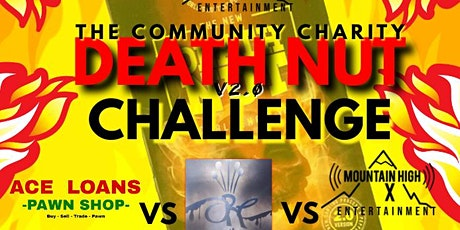 THE COMMUNITY CHARITY DEATH NUT CHALLENGE tickets