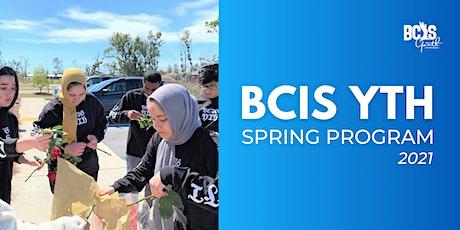 BCISYTH Spring Program 2021 - Late Registration 04 tickets