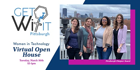 getWITit Pittsburgh Virtual Open House tickets