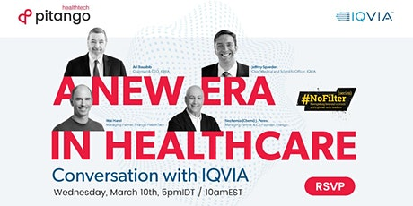 HealthTech #NoFilter: A Conversation with IQVIA On the Future of Healthcare biglietti