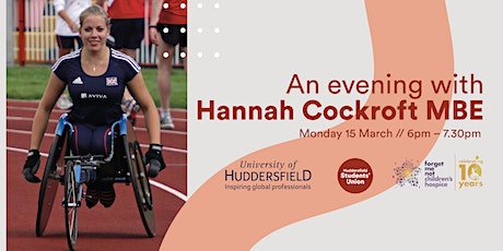 An Evening with Hannah Cockroft MBE tickets