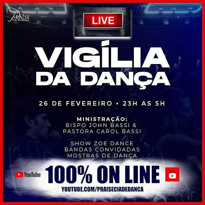 Imagem do evento LIVE - VIGÍLIA GERAL DA DANÇA  ON-LINE - FEV. 2021