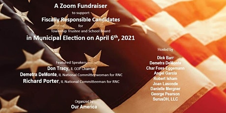 Zoom Fundraiser to support  candidates in the April Municipal Election tickets