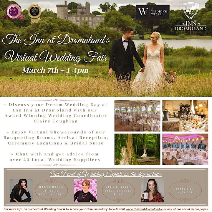The Inn at Dromoland's Virtual Wedding Fair image