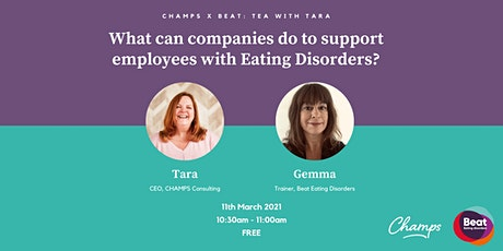 What can companies do to support employees with Eating Disorders? tickets