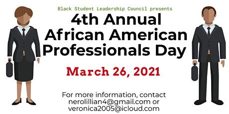 Fourth Annual African American Professionals Day tickets