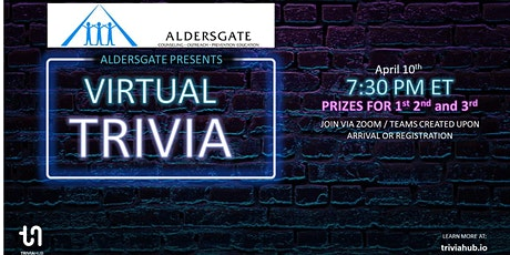 Aldersgate Trivia Night tickets