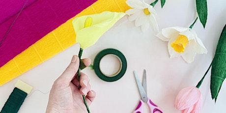 Mom & Me : Crepe Paper Flower Workshop tickets