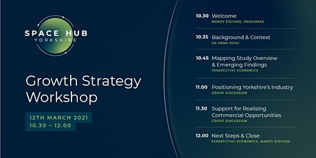 Space Hub Yorkshire Growth Strategy Workshop tickets