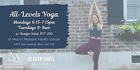 Yoga @ Mount Pleasant Health Center tickets
