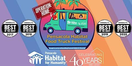 Pensacola Habitat Food Truck Festival tickets