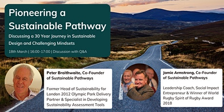 Discussing a 30 Year Journey in Sustainable Design and Challenging Mindsets tickets