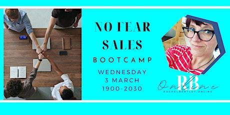 No Fear Sales Bootcamp tickets
