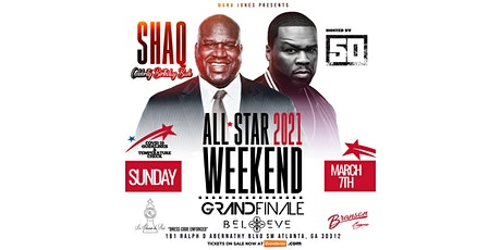 SHAQ BIRTHDAY & All Star Finale Hosted by 50 Cent tickets