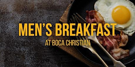 Men's Breakfast at Boca Christian tickets