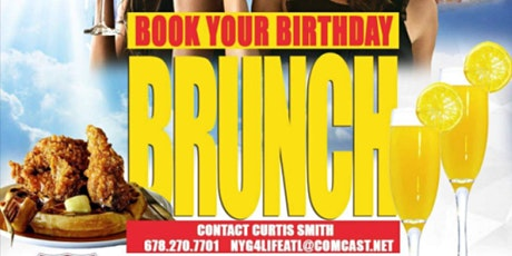 BOOK YOUR BIRTHDAY  BRUNCH @ MONTICELLO (SUNDAY'S) tickets